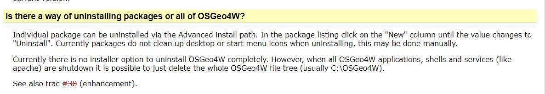 OSGEO4W versión 2